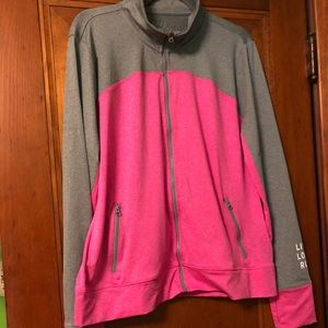 Zip up sweatshirt!